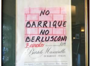 No Berlusconi No Barrique