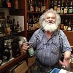 Meeting the one and only, crazy wine-collector....Flaminio